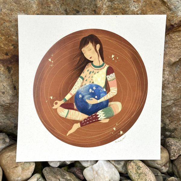 Pachamama obrázek ženy matka Země