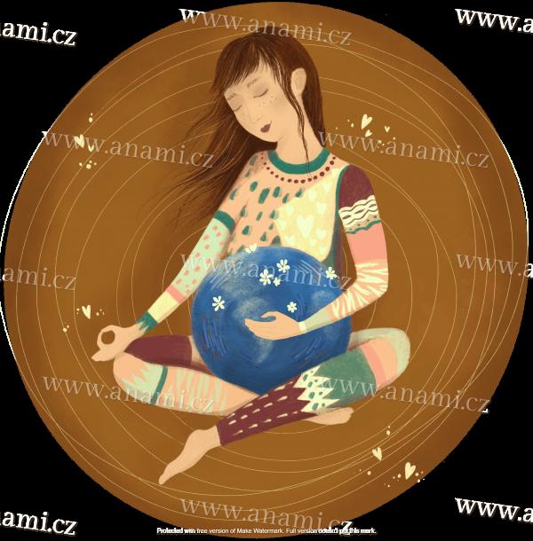 Matky držící Zemi na klíně